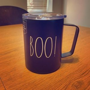 "Rae Dunn ""Boo"" insulated mug"